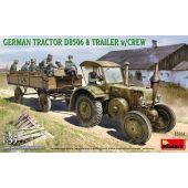 MiniArt 35314 - German Tractor D8506 & Trailer w/Crew - 1:35