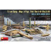 1/35 7.5 CM SPRGR., NBGR. & PZGR. PATR. KW.K.40